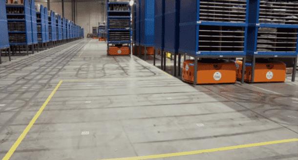Kiva Systems - Amazon Warehouse 3