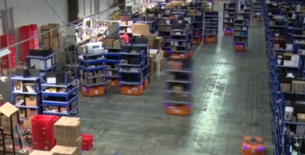 Kiva Systems - Amazon Warehouse