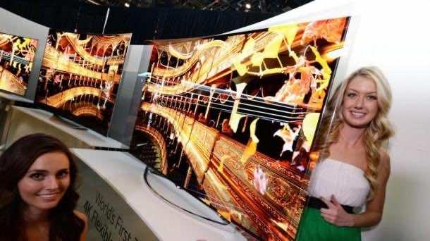 LG Flexible TV