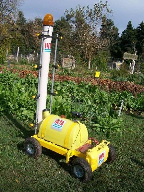Robots at farm 3