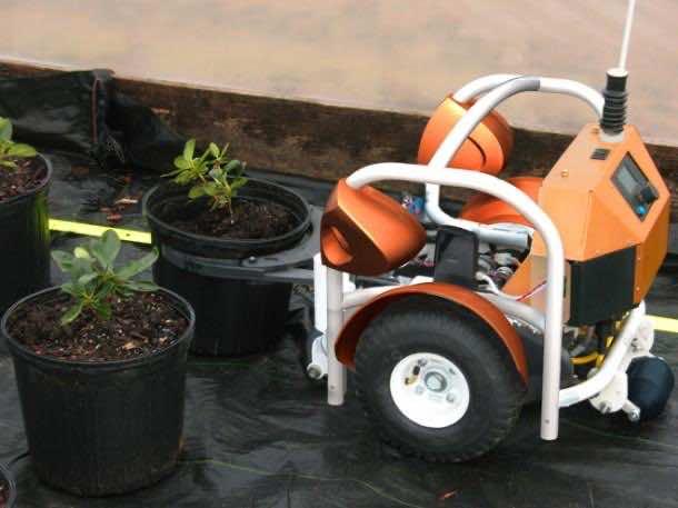 Robots at farm