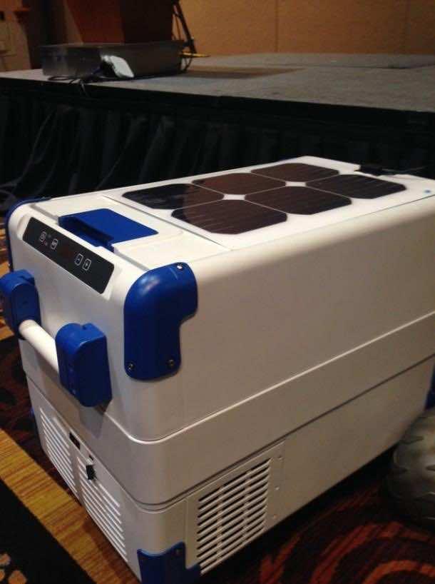 Solar Powered Cooler 2
