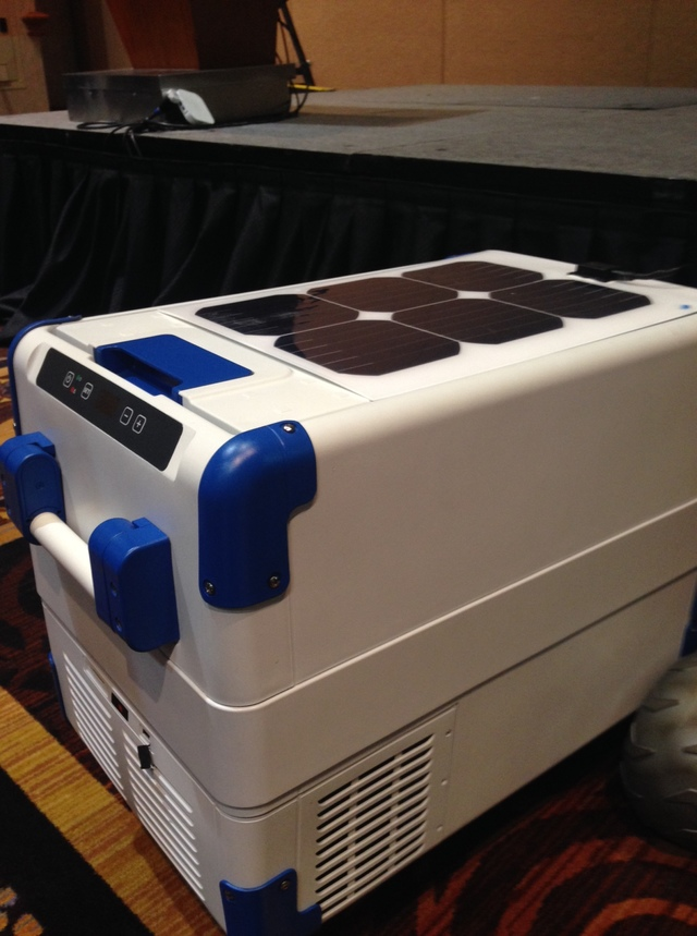 Solar Powered Cooler 2