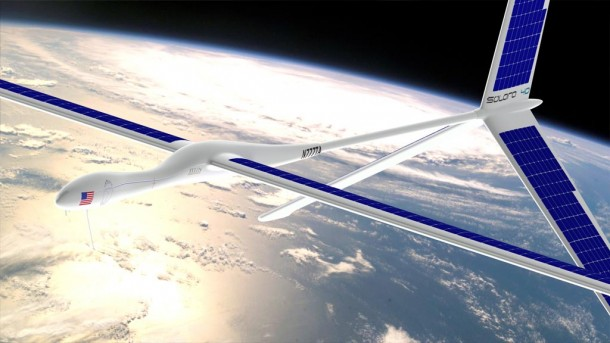 Solar Powered Plane capable of Staying aloft for Years 3