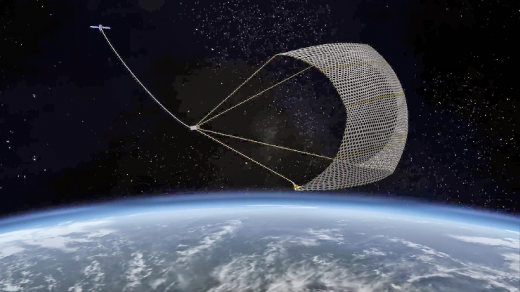 how to clean up space junk