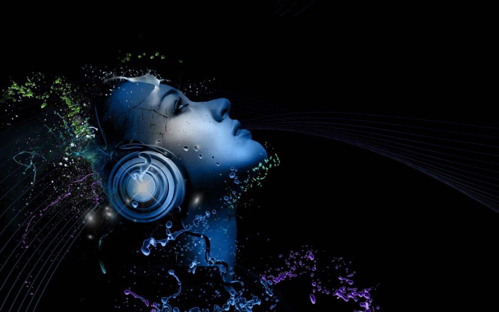 technology hd desktop tech backgrounds wallpapers music headphones dj