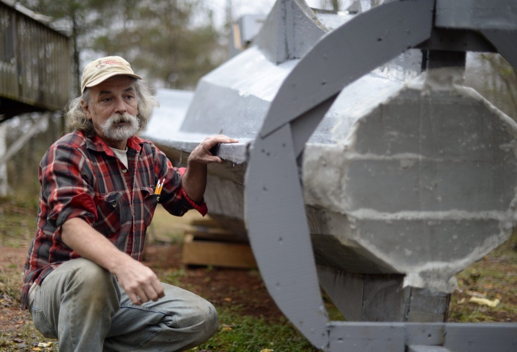Man builds replica of the Nautilus from 20,000 Leagues Under the Sea