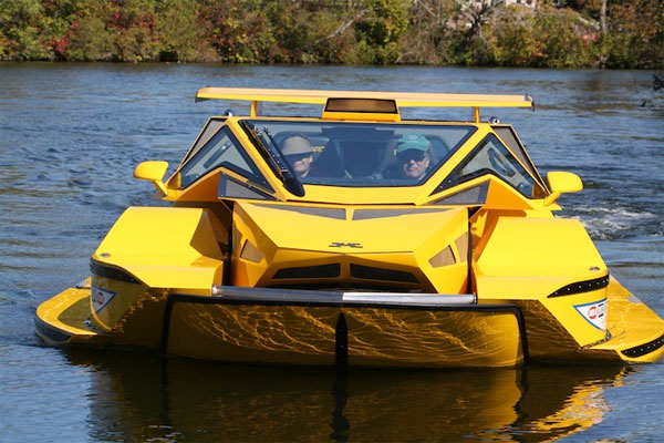 7 amphibious cars that can run on both land and water. Black Bedroom Furniture Sets. Home Design Ideas