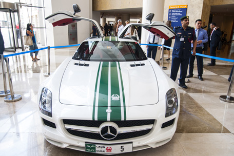 No Gangster Can Out Run Dubai S Police Supercars On The Road
