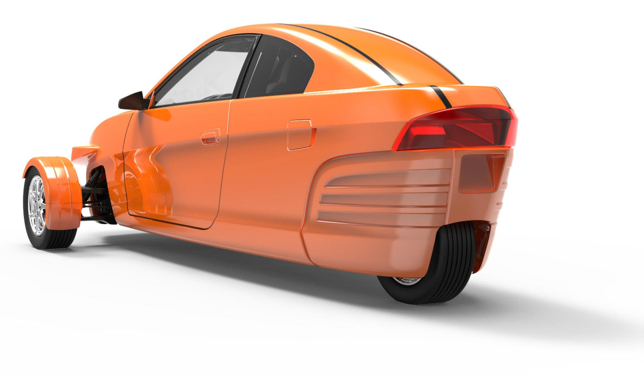 Elio The Fuel Efficient Three Wheeler Car Does 84 Mpg In Style