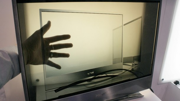 Transparent LCD Television