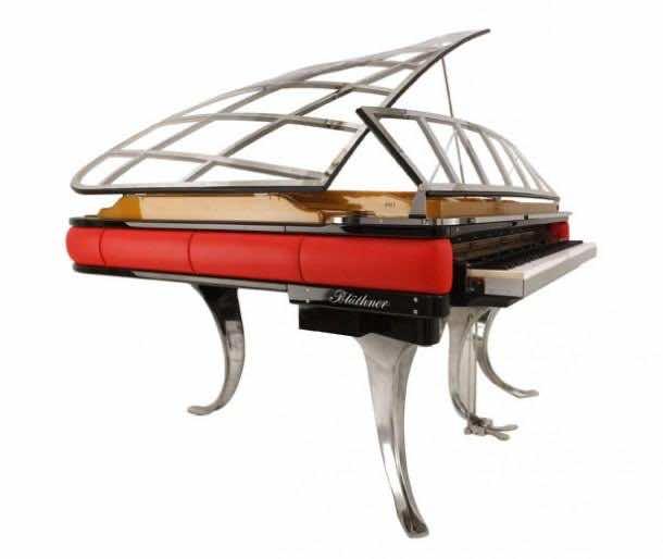 Futuristic Grand Piano