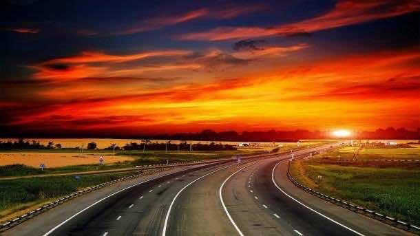 highway wallpaper 6