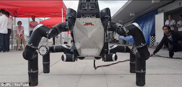 RoboSimian Is The Life Saving Droid of The Future