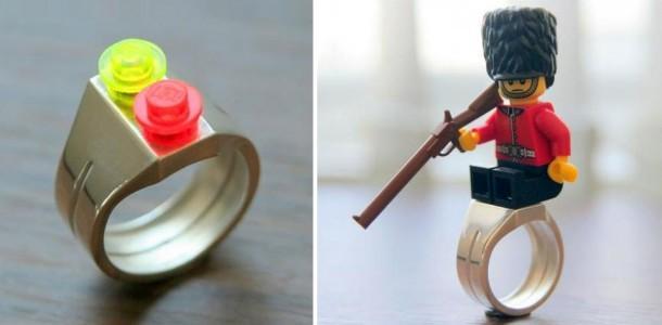 10. Lego Brick Ring