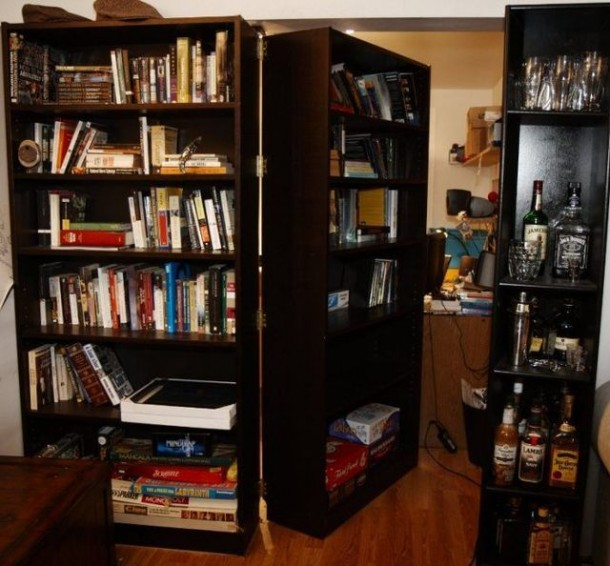 11. Create a cool hidden room that no one knows about!