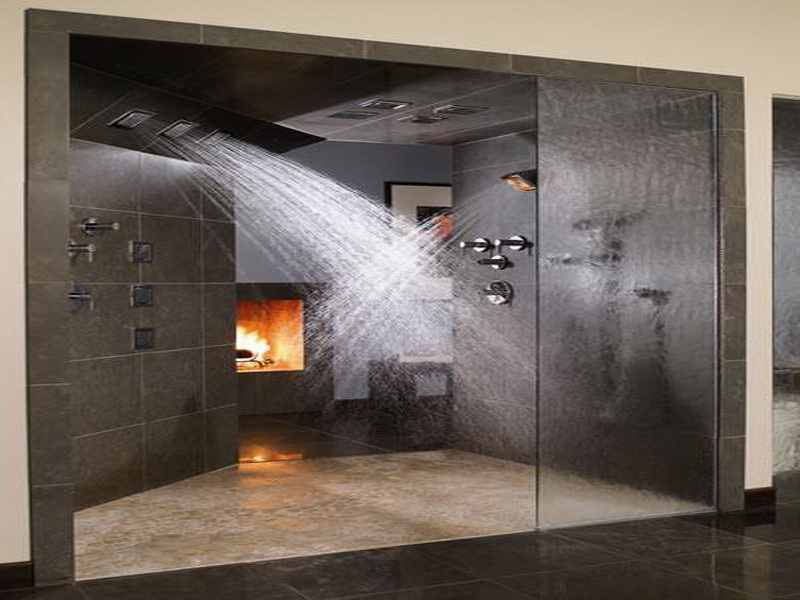 30 easy ideas to transform your house into a dream home for Huge walk in shower