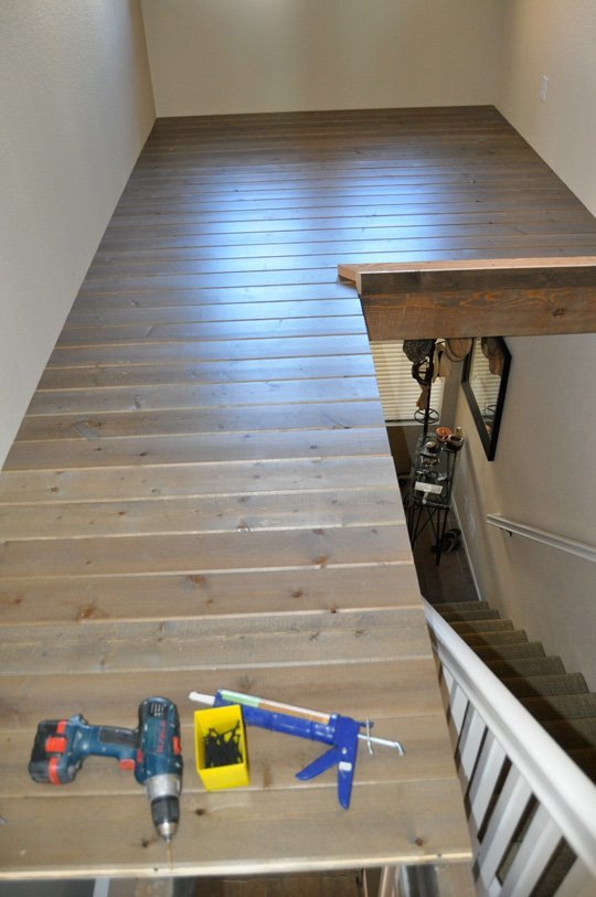 19. Build a playroom above a stairway!
