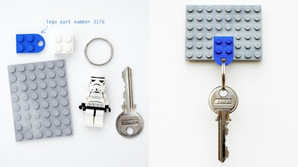 2. Lego Keychain Holder
