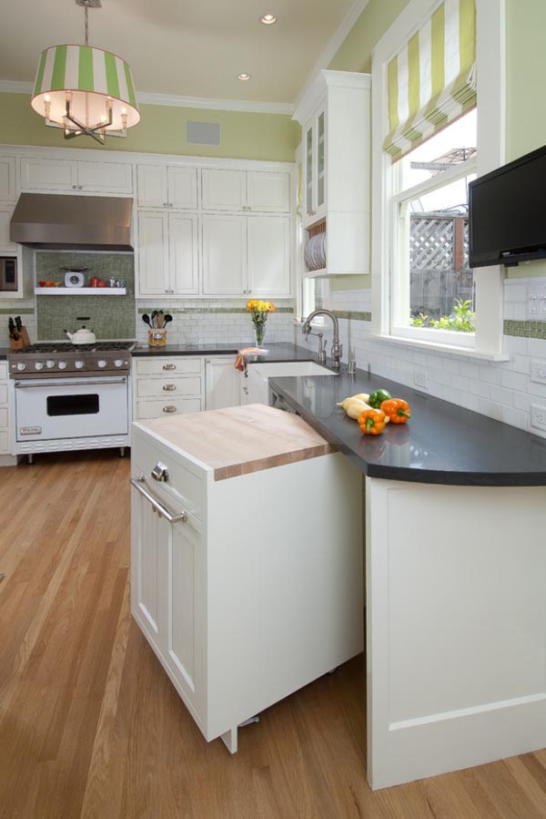 21. Provide more space in kitchen