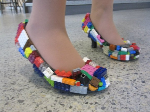 3. Lego Shoes