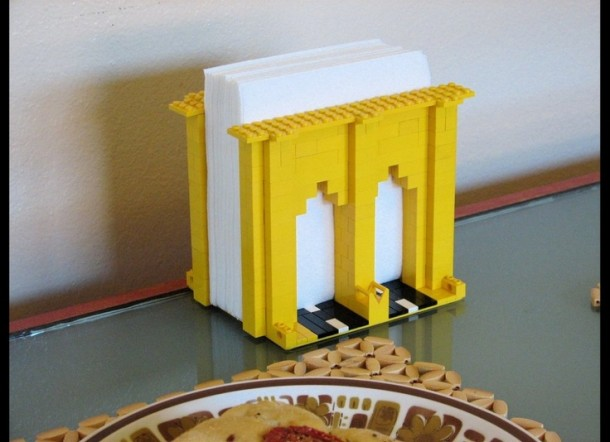 4. Lego Napkin Holder