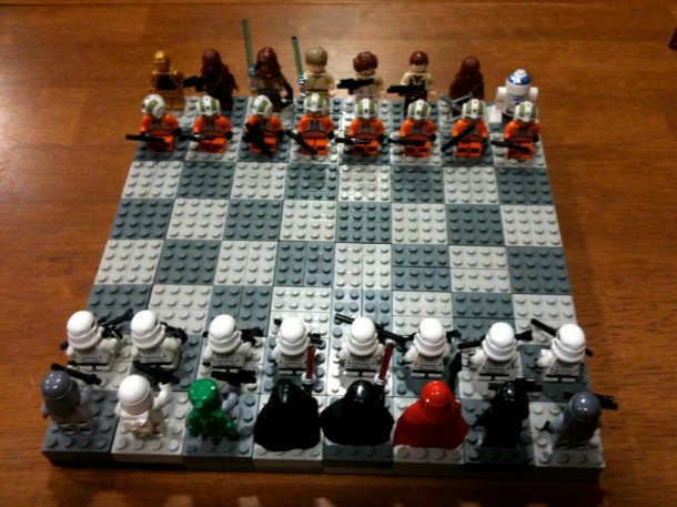 5. Lego Chess Set