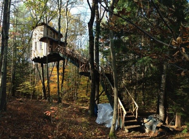 8. Guest tree-house
