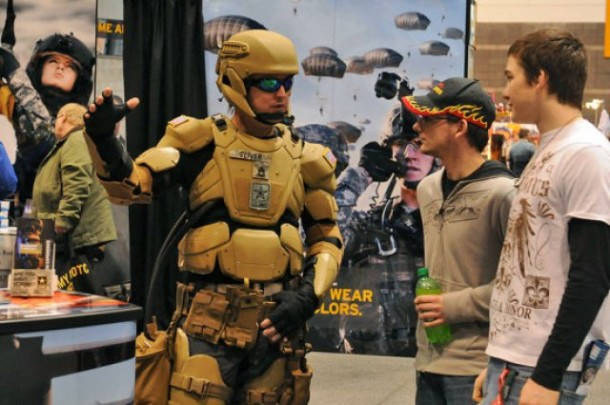 Army Iron Man