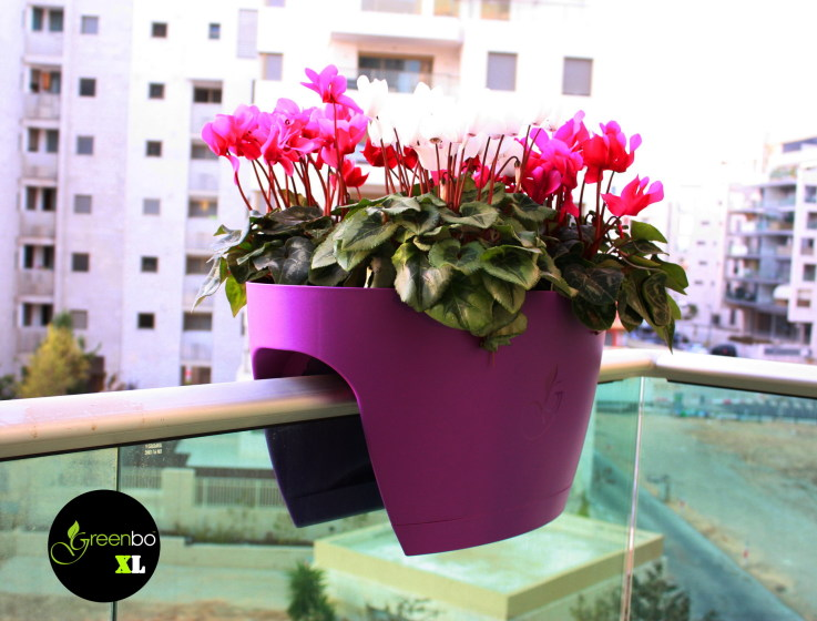 10 great ideas that will transform your balcony into an for Balcony planters