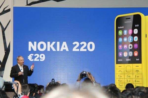 Nokia 220 released