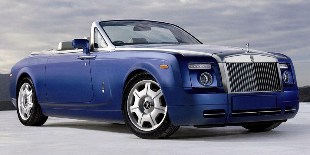 Rolls Royce Unveils A Phantom Drophead Coup
