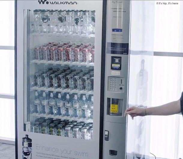Sony sells Walkman in water bottles