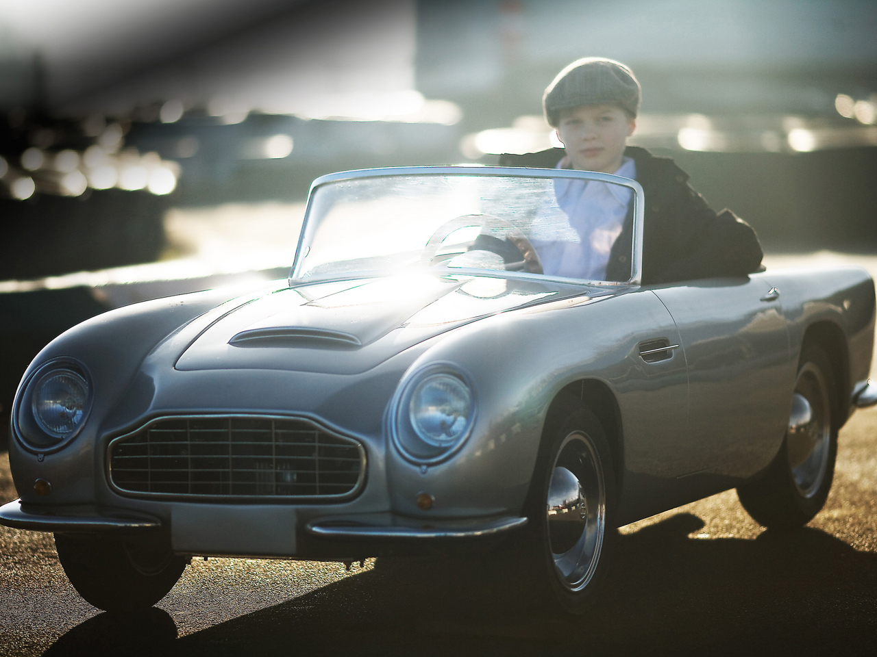 Aston Martin Comes Up With World S First Sports Car For Small Kids