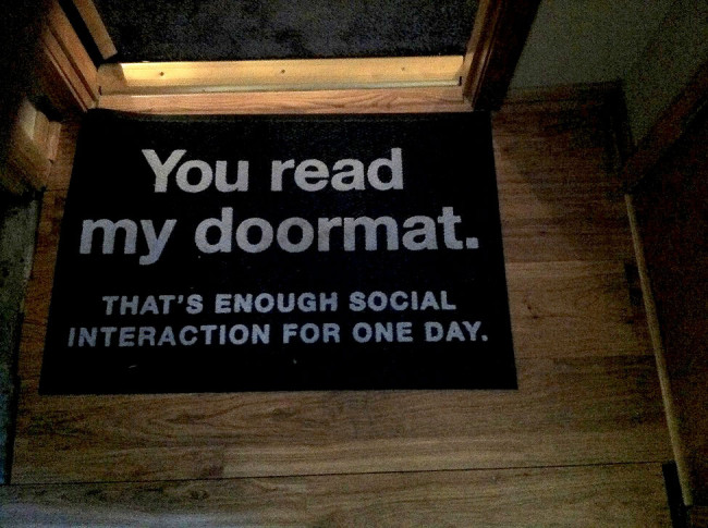 funny doormat 1