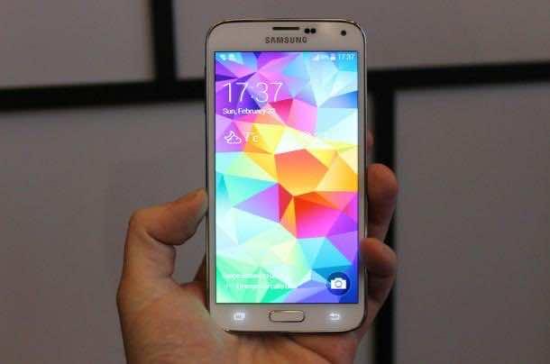 new Galaxy S5