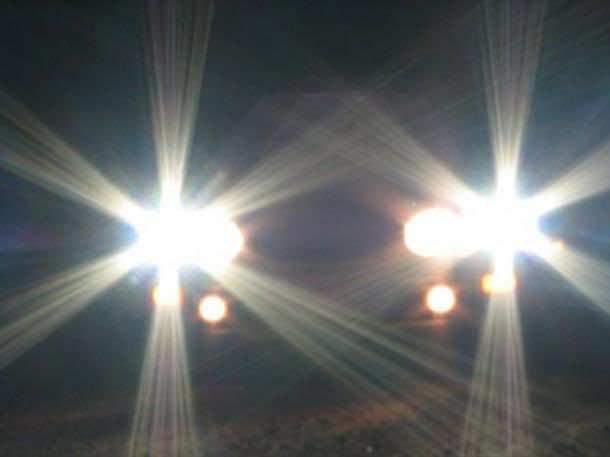 strong headlight