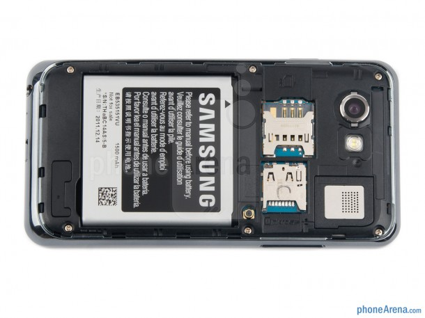 1. Samsung Battery swipe