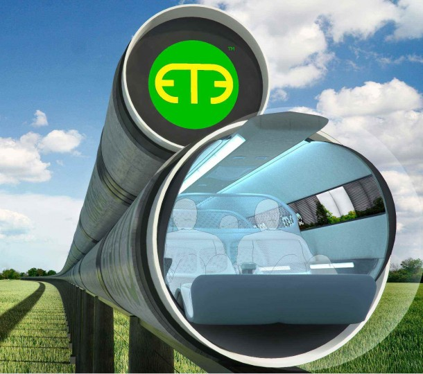 2. Ultra–High Speed Tube Trains