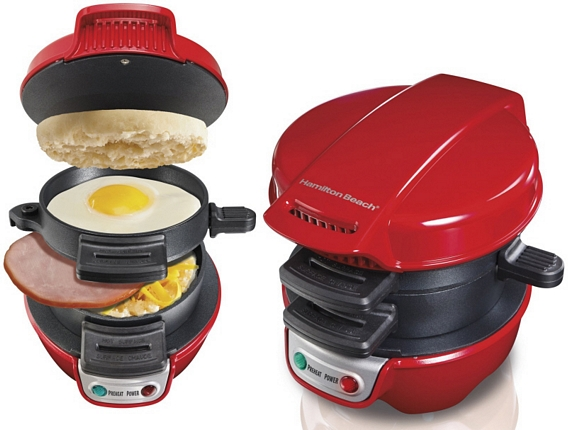 6. Hamilton Beach Breakfast Sandwich Maker