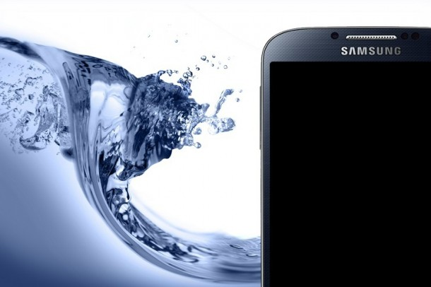 9. Samsung in Water