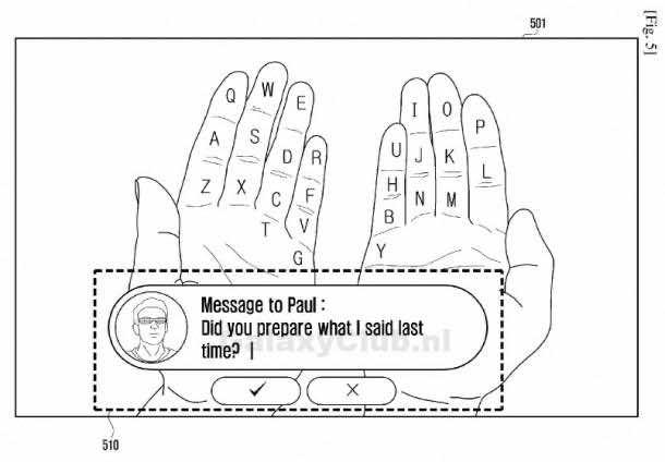 Samsung AR Keyboard