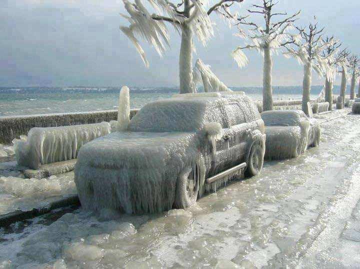 Winter - Versoix, Switzerland