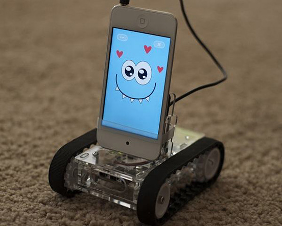 Super Cool Gadgets Romo Robot For Smartphone