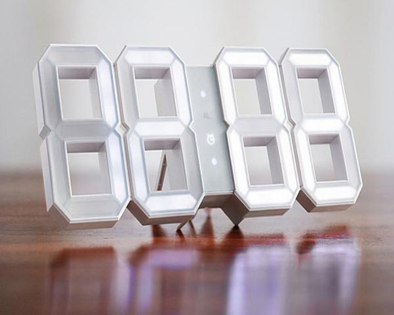 Super Cool Gadgets The White Clock