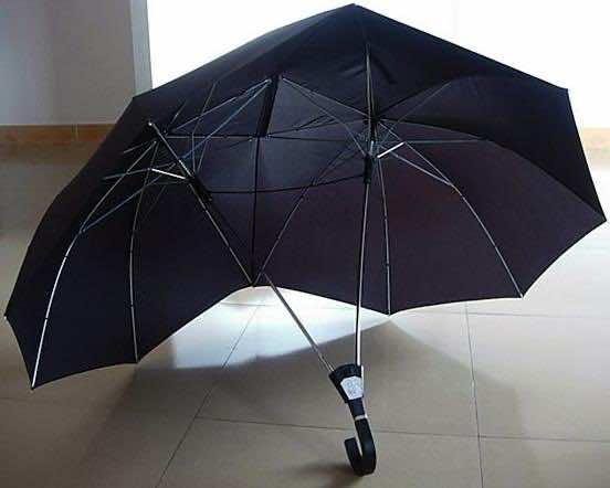 Super Cool Gadgets Two Person Umbrella