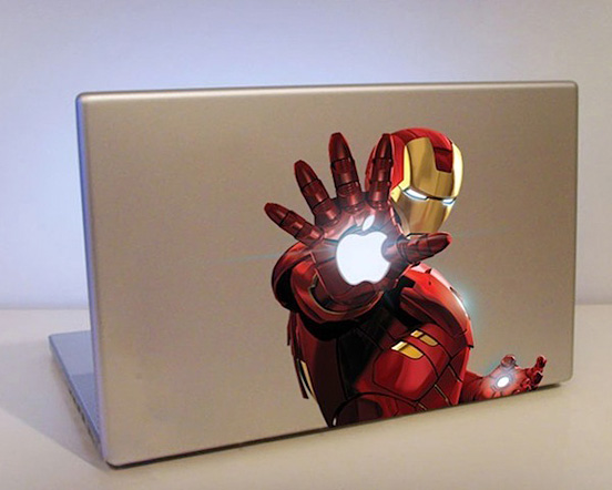 Super Cool Gadgets Iron Man Decal For Macbook