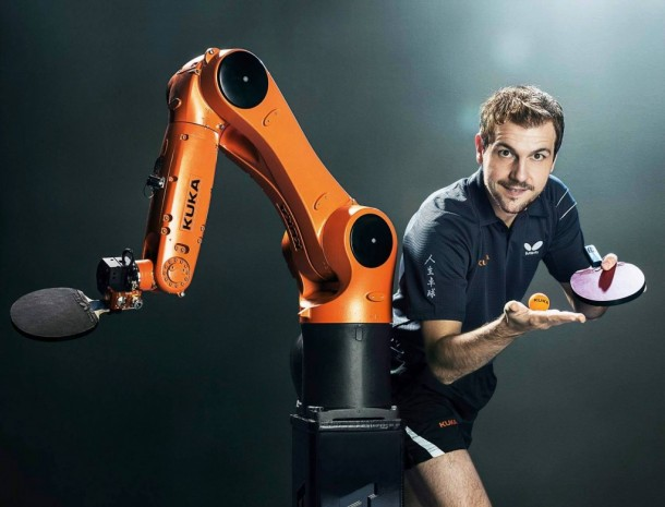 timo boll industrial robot