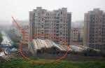 toppled building shanghai