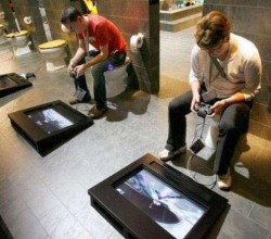 2. Gaming in Bathroom